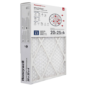 Honeywell CF200A1016 4-Inch  Ultra Efficiency Air Cleaning Filter 20x25x4.5