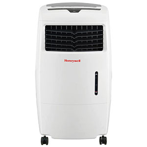 Honeywell CL25AE Evaporative Air Cooler, Fan & Humidifier, 500 CFM (White)