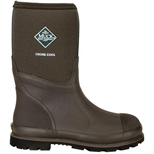 Muck CMCT-900 Chore Cool Mid Boot, Brown
