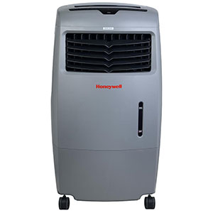 Honeywell CO25AE Indoor/Outdoor Evaporative Air Cooler , 500 CFM (Gray)