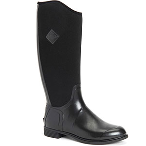 Muck DBYT-000 Women's Derby Tall Boot, Black