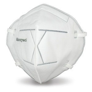 Honeywell N95 Flatfold Disposable Respirators, 20 Masks - DF300N95BX