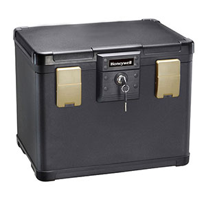 Honeywell 1106 Molded Fire/Water File Chest (.6 cu')
