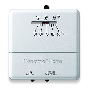 Honeywell CT31A1003/E Heat and Cool Non-Programmable Thermostat
