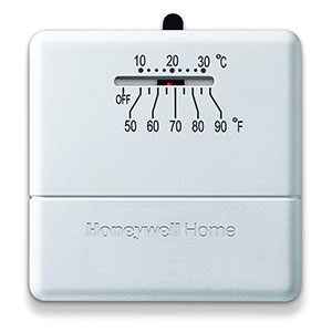 Honeywell YCT33A1000 Millivolt Heat Only Thermostat