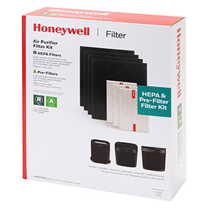 Honeywell HRF-ARVP300 HEPA Filter Combo Pack For HPA300 Series Air Purifiers