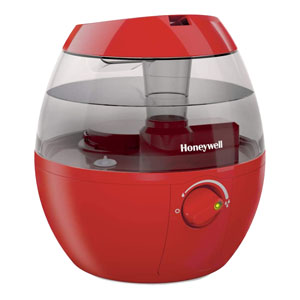 Honeywell Mist Mate Cool Mist Humidifier Red, HUL520R