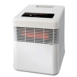 Honeywell Digital Infrared Heater with Quartz Heat Technology, HZ960 - White