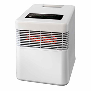 Honeywell Digital Infrared Heater White, HZ-970