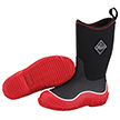 Muck Boots Kid's Hale Outdoor Boot in Red/Black, KBH-400