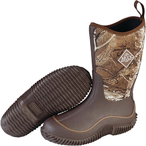 Muck Kid's Hale Boot, Brown / Real Tree Edge - KBH-RTE