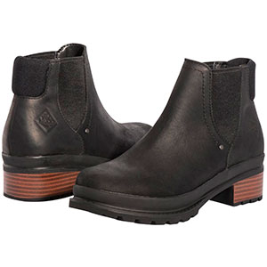 Muck LWC-000 Liberty Chelsea Boot, Black