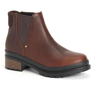 Muck LWC-900 Women's Liberty Chelsea Boot, Brown Pull Up