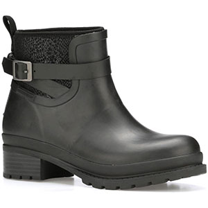 Muck Women's Liberty Ankle Rubber Boot, Black - LWKR-000