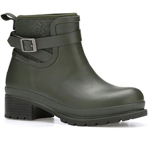 Muck LWKR-300 Liberty Ankle Rubber Boot, Moss