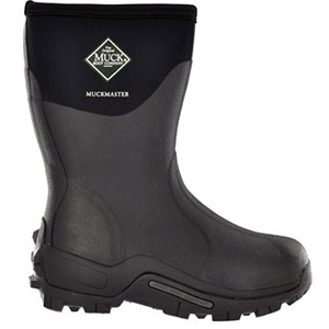 Muck Boot Muckmaster Commercial Grade Boot Mid, Black - MMM-500A