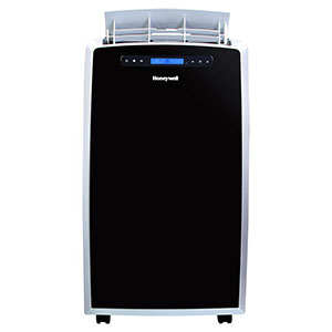 Honeywell MN14CCS Portable Air Conditioner, 14,000 BTU Cooling, with Dehumidifier & Fan (Black/Silver)