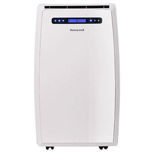 Honeywell MN14CCSWW Portable Air Conditioner, 14,000 BTU Cooling, with Dehumidifier & Fan (White)