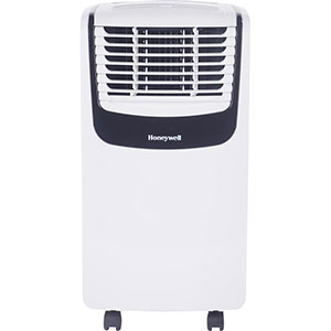 Honeywell MO10CESWK Compact Portable Air Conditioner, 10,000 BTU (White/Black)