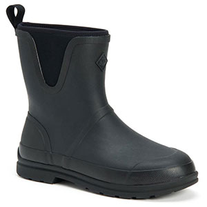 Muck OMM-000 Originals Pull On Mid Boot, Black