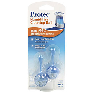 Protec Antimicrobial Cleaning Cartridge For Humidifiers - 2 Pack, PC2V1