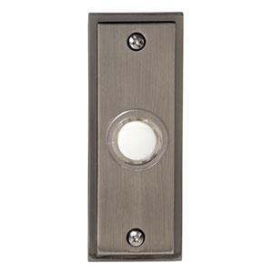 Honeywell RPW202A Wired Recessed Illuminated Push Button for Door Chime