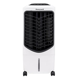 Honeywell TC09PEU Compact Evaporative Air Cooler & Humidifier, 200 CFM (White)