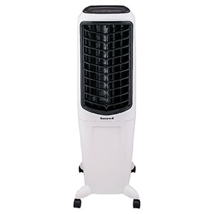 Honeywell TC30PEU Evaporative Tower Air Cooler & Humidifier, 470 CFM (White)