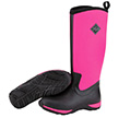 Muck Boots Womens Arctic Adventure Winter Boot in Black/Hot Pink, WAA-404