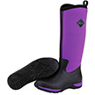 Muck Boots Womens Arctic Adventure Winter Boot in Black/Purple, WAA-500