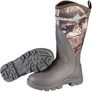Muck WDC-INF Woody Grit Boot, Brown / Mossy Oak Infinity