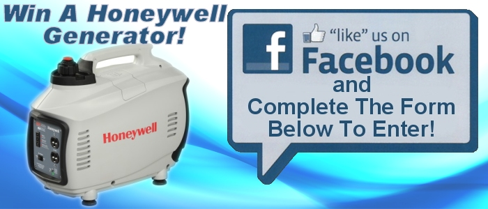 win a honeywell portable generator in our web sweepstakes